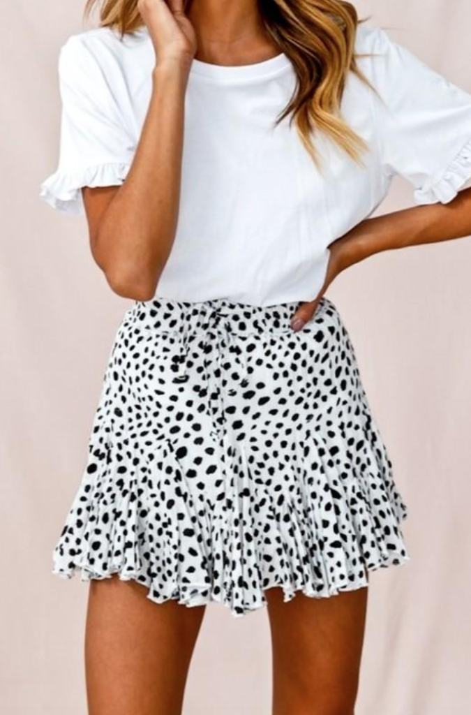 Ooh la luxe skirt | boutique of the week | d-ravel.com